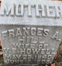 Frances A <i>Hill</i> Howell