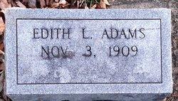 Edith L. Adams