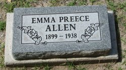 Emma <i>Preece</i> Allen
