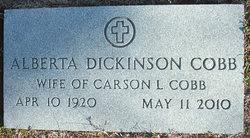 Alberta <i>Dickinson</i> Cobb