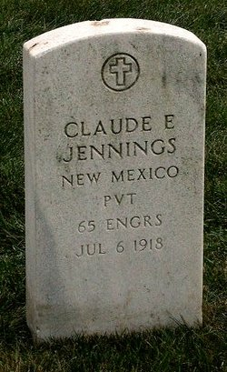 Pvt Claude Earl Jennings