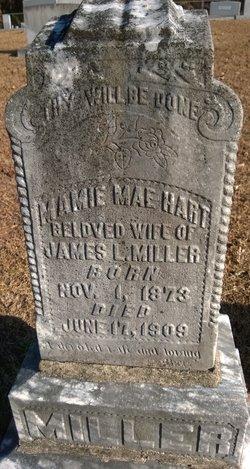 Mamie Mae <i>Hart</i> Miller