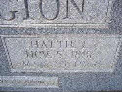 Hattie Lou <i>Tubb</i> Pennington