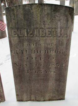 Elizabeth D. <i>Holt</i> Hitchcock