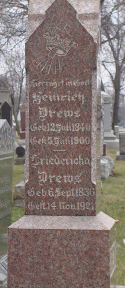 Heinrich G Henry Drews