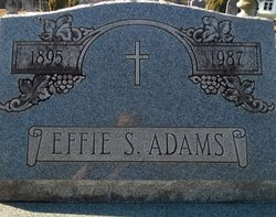 Effie S. Adams