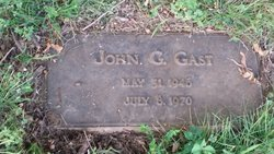 John G Gast