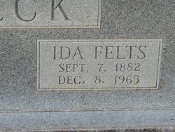 Ida <i>Felts</i> Beck