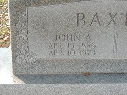 John Alvin Baxter