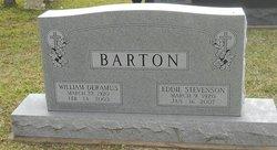 Eddie <i>Stevenson</i> Barton