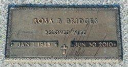 Rosa <i>Burman</i> Bridges