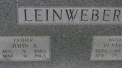 John A Leinweber