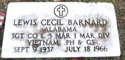 Sgt Lewis Cecil Barnard