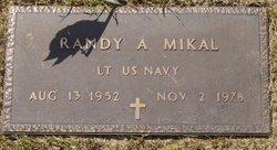 Lieut Randy Andrew Mikal