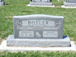 Edward W Boxler