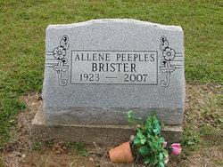 Allene Brister <i>Peeples</i> Martin