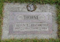 Elizabeth P <i>Parries</i> Thorne
