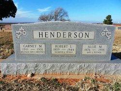 Robert Lemuel Henderson
