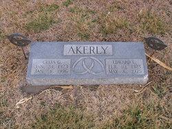 Celia <i>Getty</i> Akerly