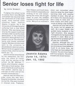 Jeannie C Adams