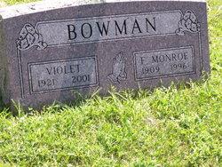 F. Monroe Bowman