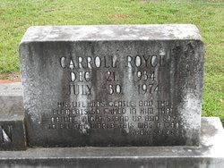 Carrol Royce Bowman