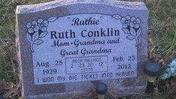 Ruth <i>Devens</i> Conklin