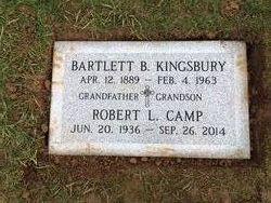 Bartlett B Kingsbury