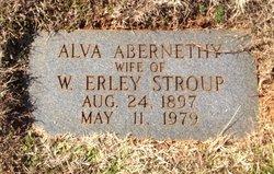 Alva <i>Abernethy</i> Stroup