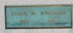 Anna Marie <i>Sevra</i> Bowman