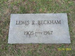 Lewis Robert Beckham