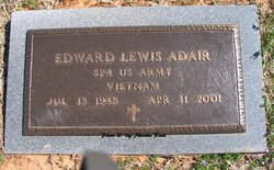 Spec Edward Lewis Adair