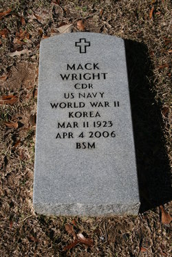 CDR Mack Wright