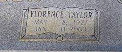 Florence <i>Taylor</i> Butler