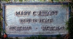 Mary Carrie <i>Anderson</i> Abbott