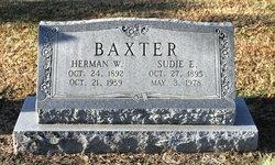 Sudie Ellen <i>Gardner</i> Baxter
