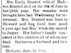 Emily Brasted
