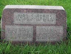 Lillie <i>Olson</i> Adams