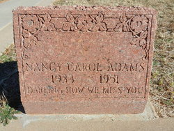Nancy Carol Adams