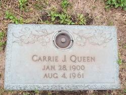Carrie Josephine <i>Quiett</i> Queen