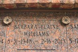 Barbara Elaine <i>Weir</i> Williams