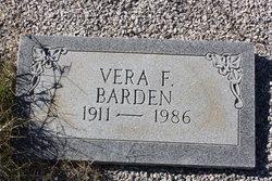 Vera <i>Patterson</i> Barden