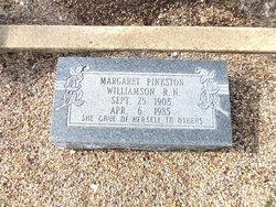 Margaret <i>Pinkston</i> Williamson