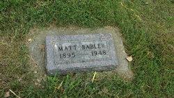 Matt Babler