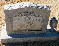 Mary Lillian <i>French</i> Dowdle
