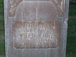 Martha Ann <i>Summers</i> Lowe