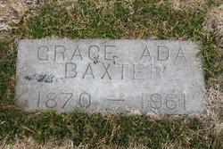 Grace Ada <i>Robinson</i> Baxter