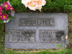 Bertha Valate <i>Wayman</i> Wright