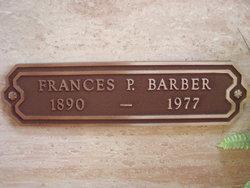 Frances P <i>Van Horn</i> Barber