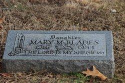 Mary M <i>Mullikin</i> Blades